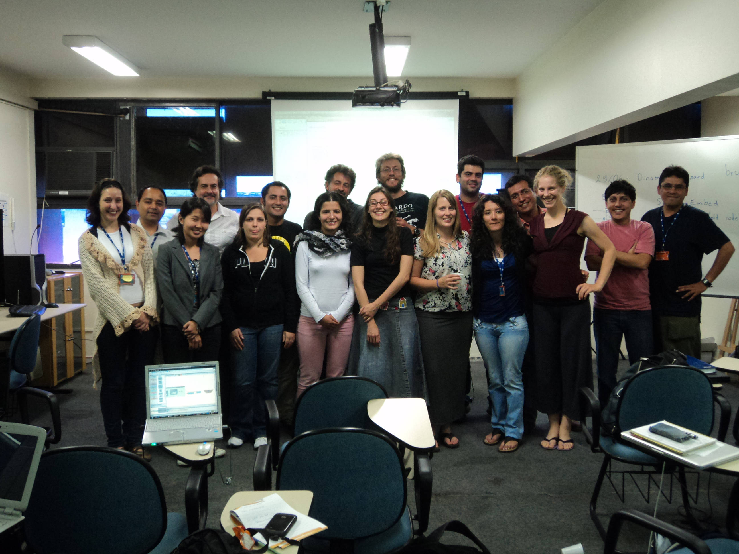 Curso de Dinamica EGO - Avançado, UFMG, Belo Horizonte, 2011