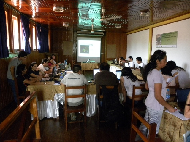 Curso de Dinamica EGO, Madre de Dios, Peru, 2009