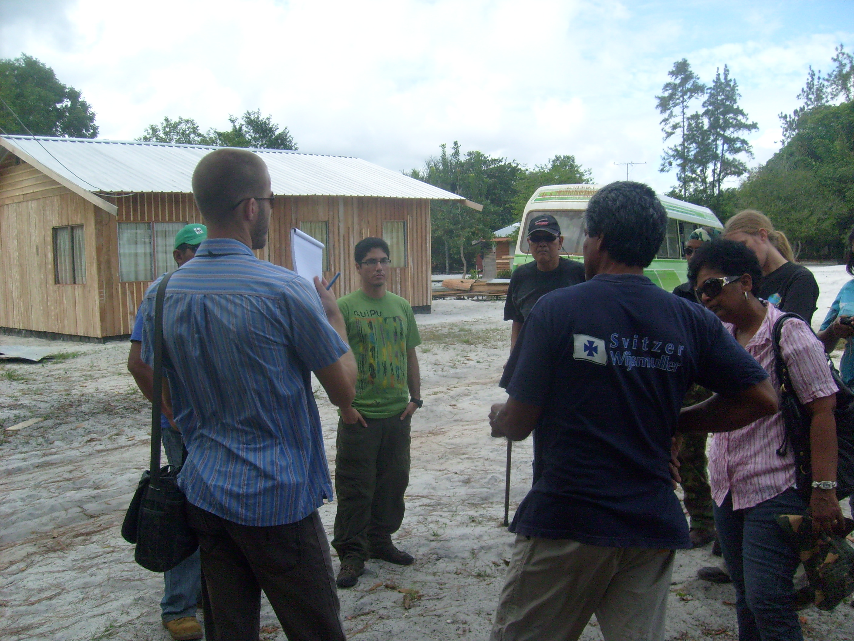 Curso de Dinamica EGO, Center for Agricultural Research, Suriname, 2011