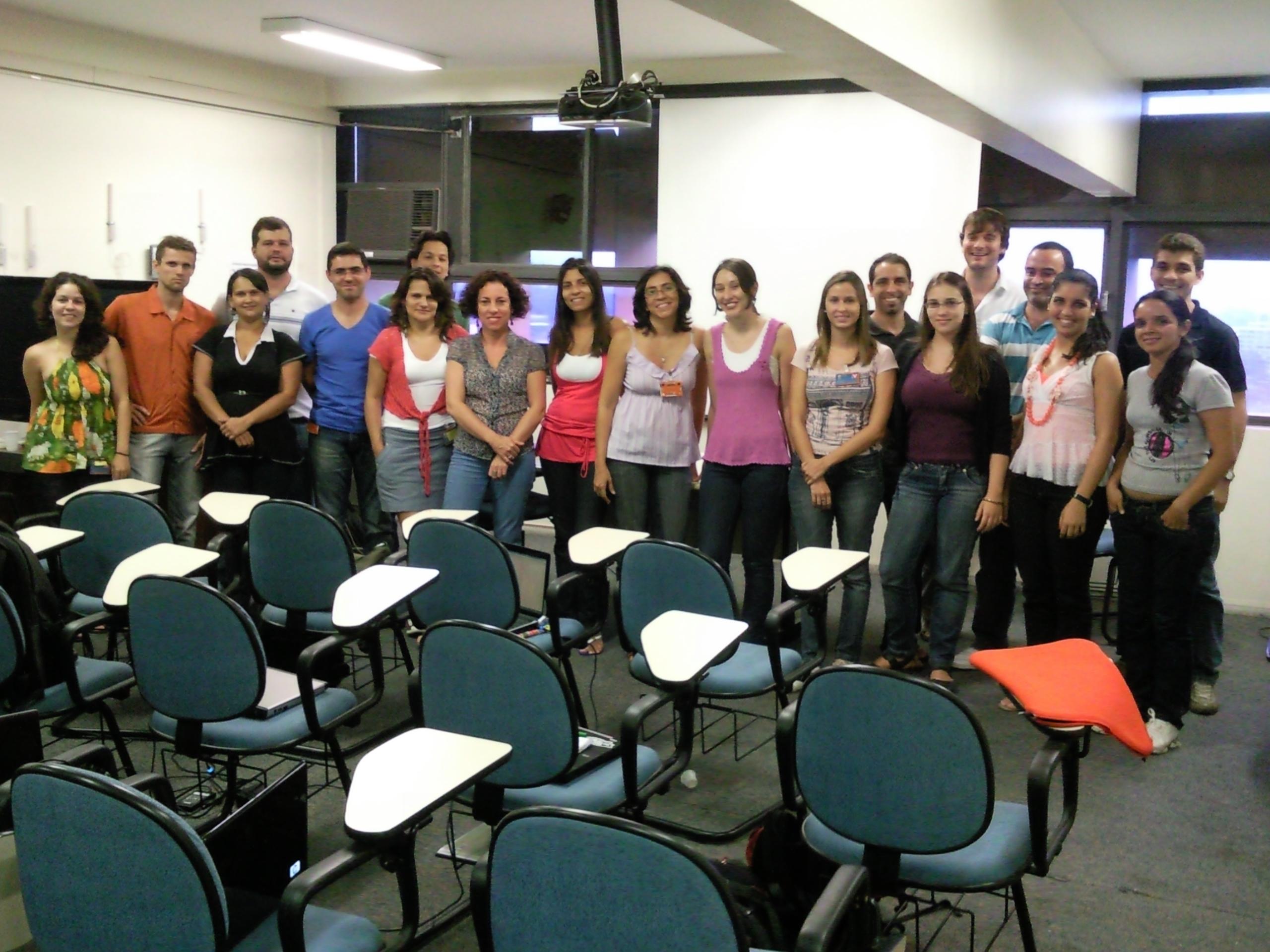 Curso de Dinamica EGO, UFMG, Belo Horizonte, 2011