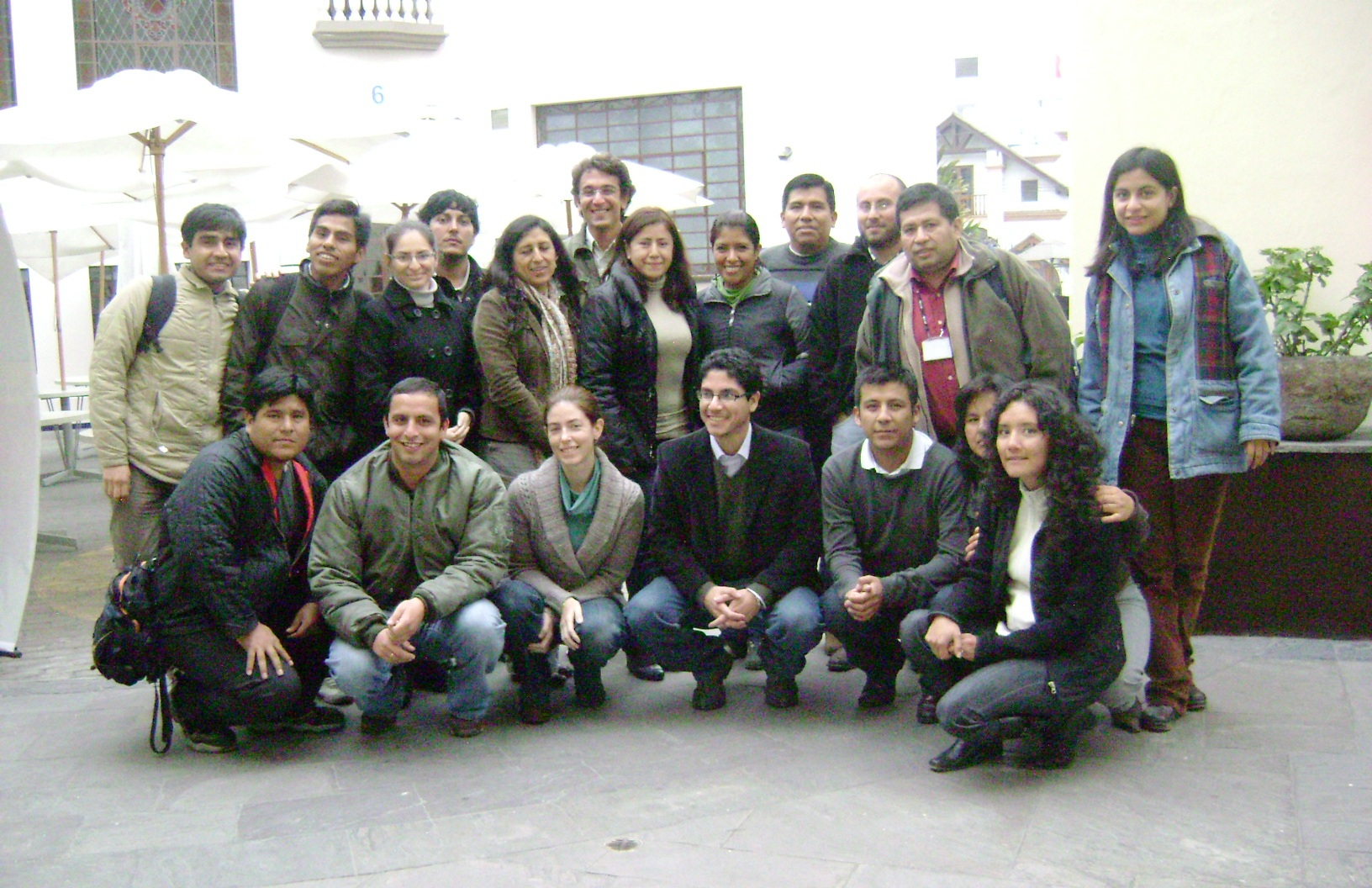 Curso de Dinamica EGO, Lima, Peru, 2010