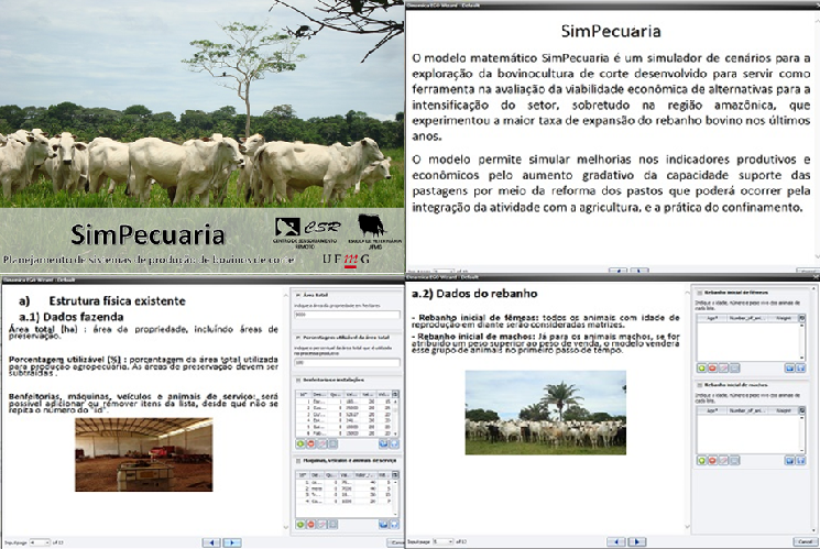 Software para planejamento de sistema produção